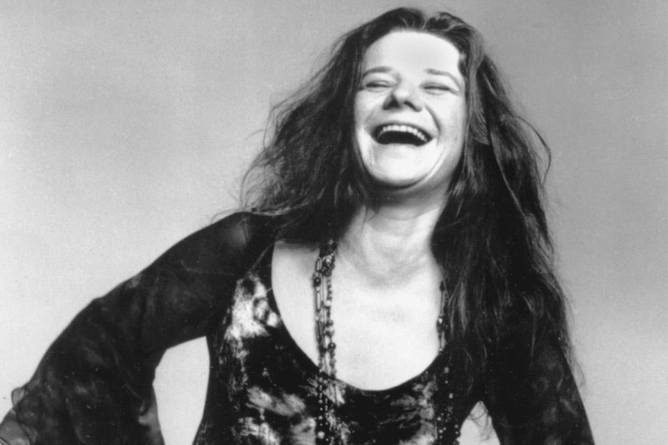 Janis Joplin sonrisa