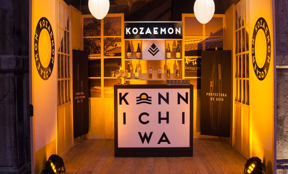 Casa Kozaemon, sake