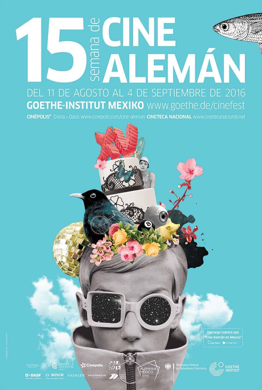 Poster de la 15 Semana de Cine Alemán