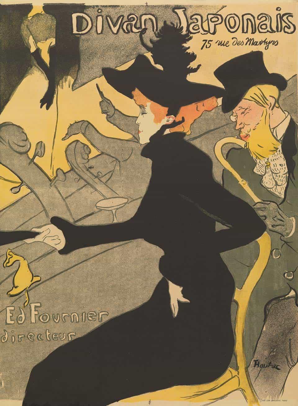"""""""Divan Japonais"""" Toulouse-Lautrec"""