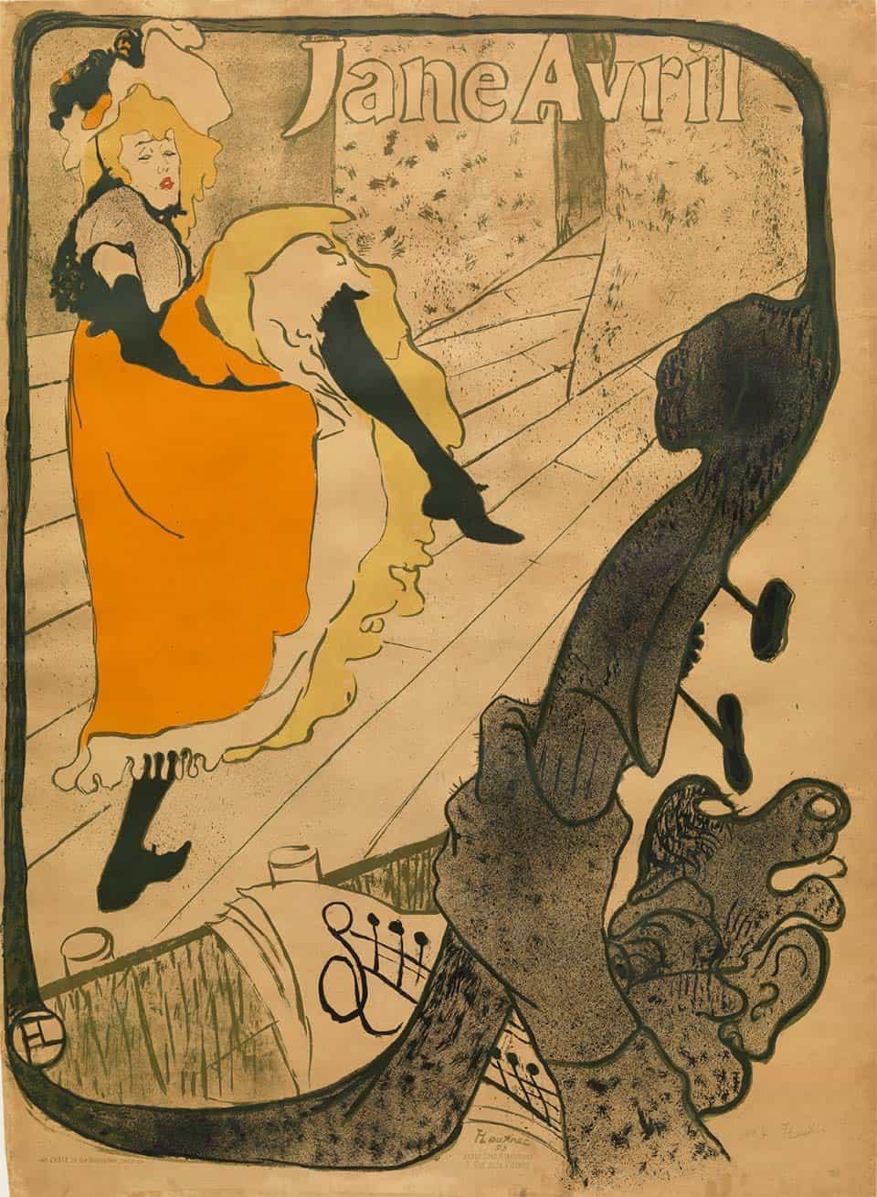 """""""Jane Avril"""" Toulouse-Lautrec"""