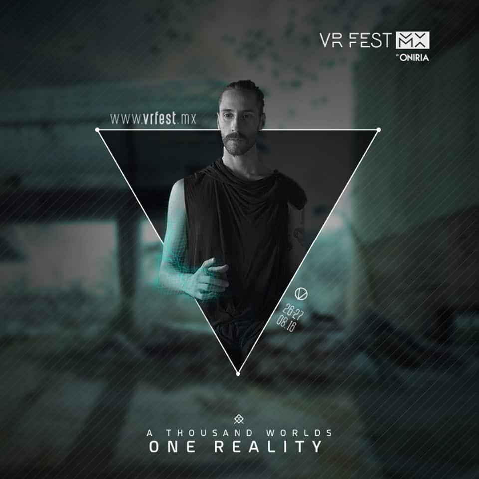 Poster 2 VR Fest MX