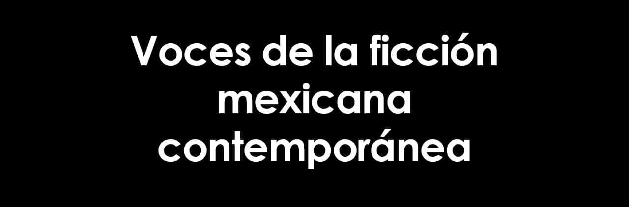 Autors mexicanos contemporáneos, portadilla