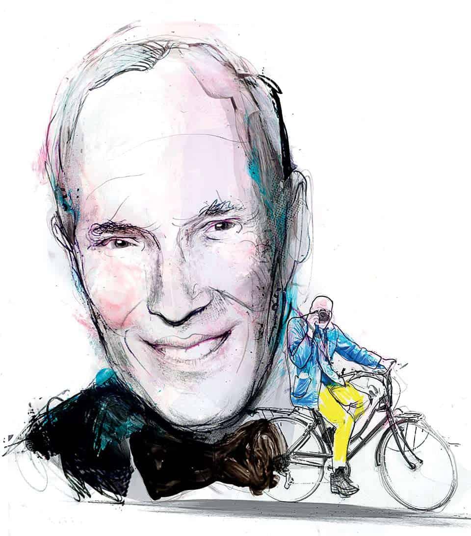 Bill Cunningham retrato