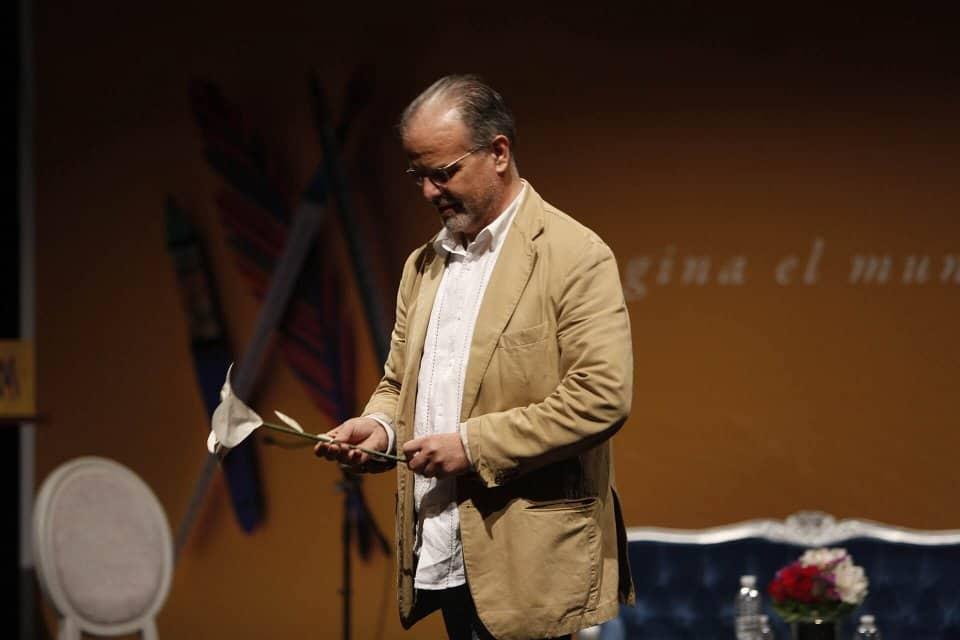 Carlos Franz en el Hay Festival Querétaro.