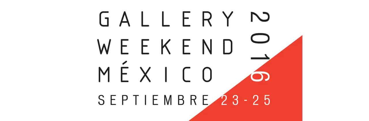 Logo Gallery Weekend 2016