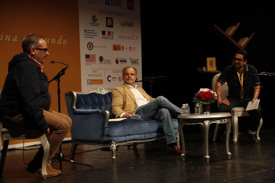 Gastón García Marinozzi y Carlos Franz