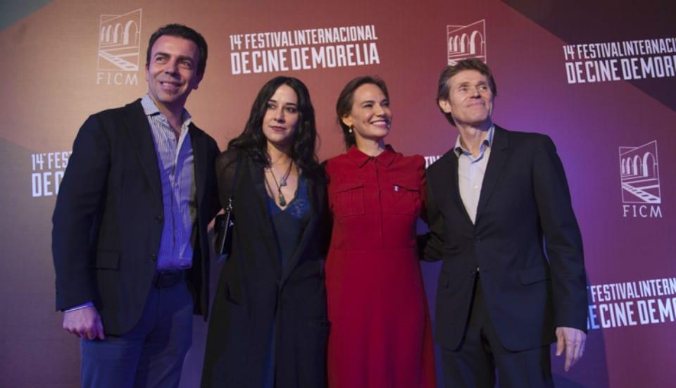 Alejandro Ramírez, Giada Colagrande, Daniela Michel y Willem Dafoe.
