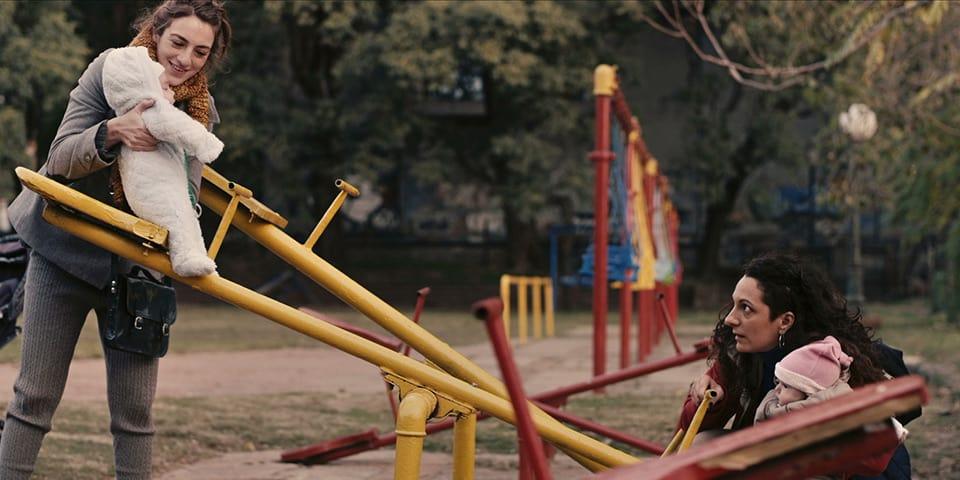 """Bebés en """"Mi amiga del parque"""""""