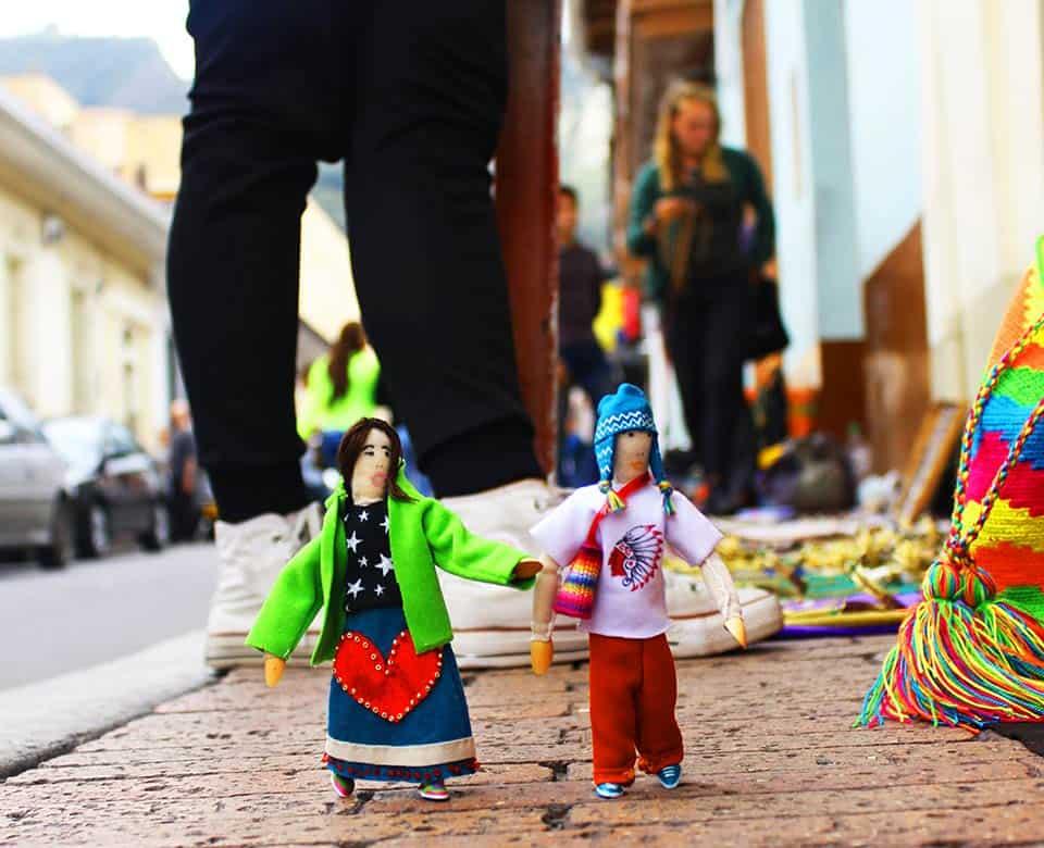 Muñecos Aterciopelados
