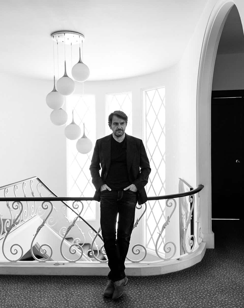 """Lorenzo Vigas, director de """"Desde allá""""."""