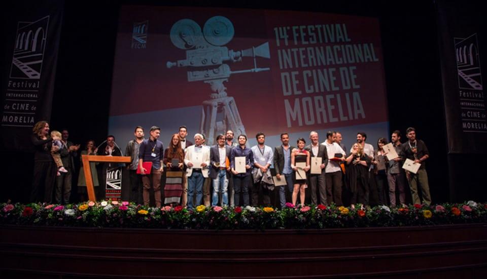 Ganadores del XIV Festival Internacional de Cine de Morelia.