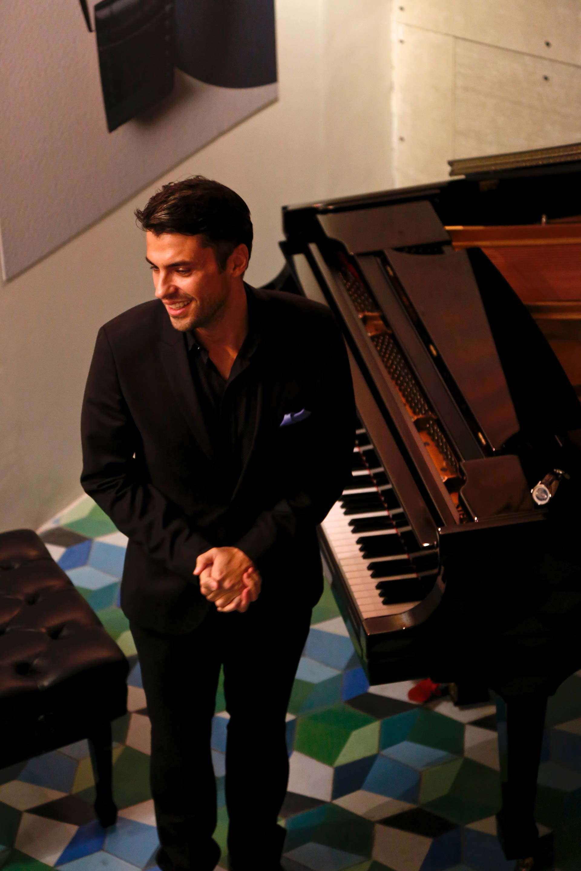 El pianista Jorge Viladoms.
