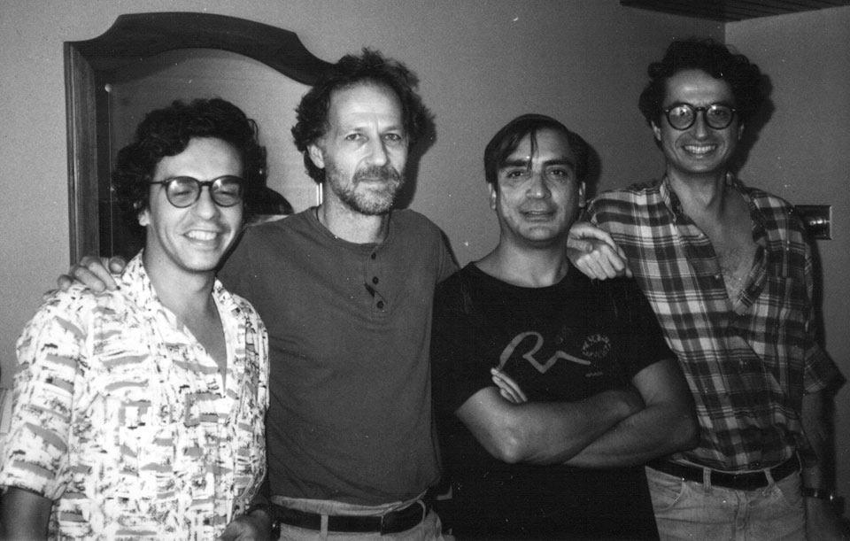 Luis Ospina, Werner Herzog, Carlos Mayolo y Sandro Romero