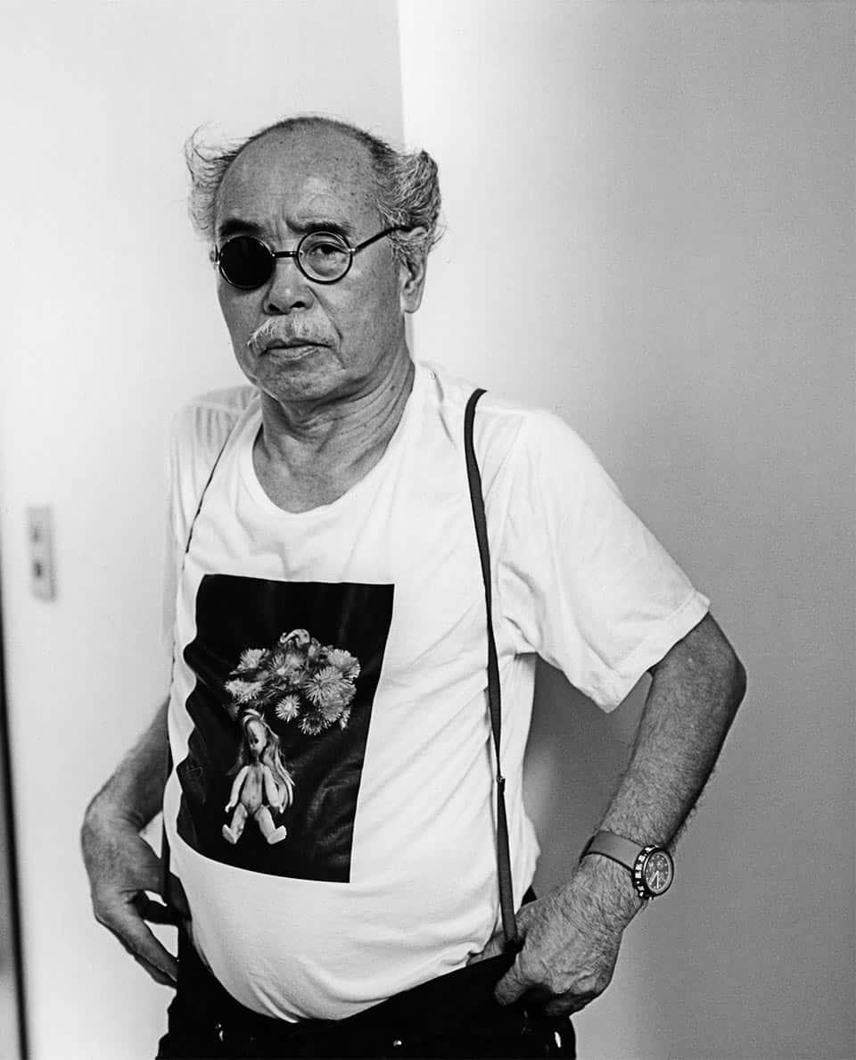 Retrato de Nobuyoshi Araki