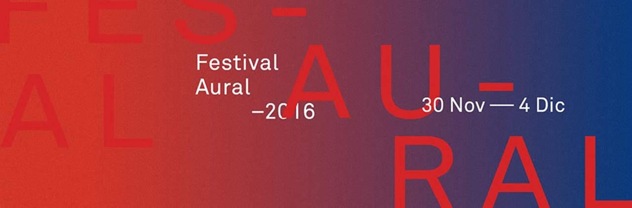 Portada Festival Aural