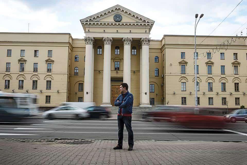 Andrei Sushko, abogado y defensor de derechos humanos