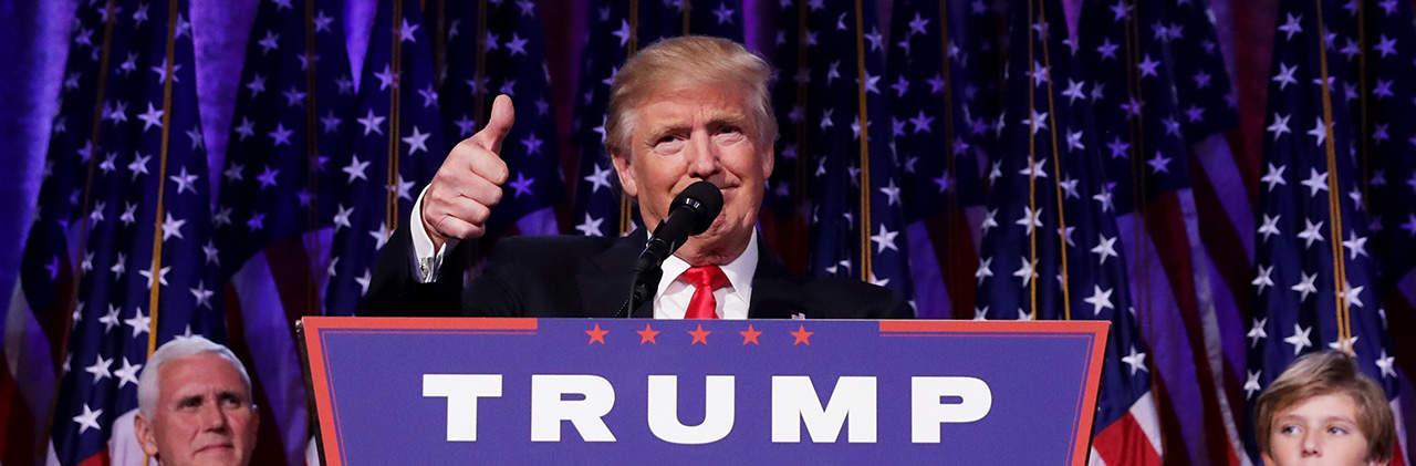 Trump ganador
