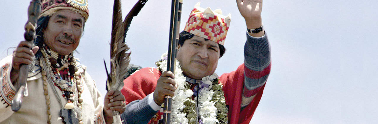 portada Evo Morales