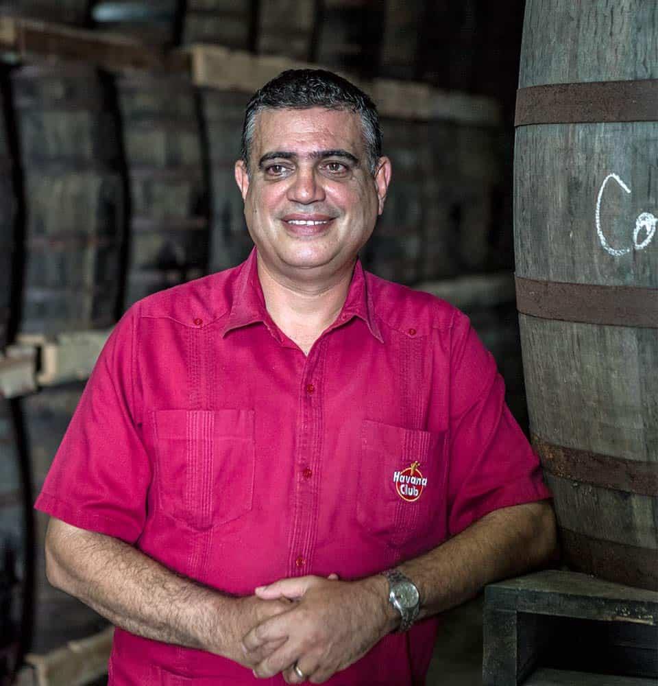 Asbel Morales, maestro ronero de Havana Club.