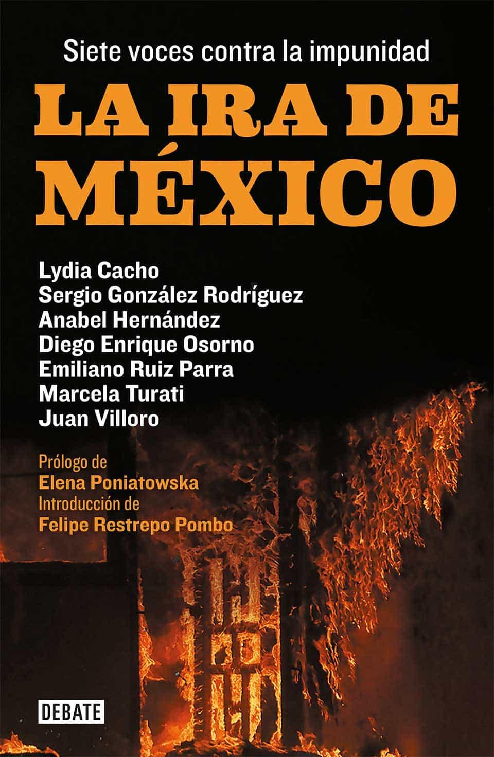 Portada libro La ira de México
