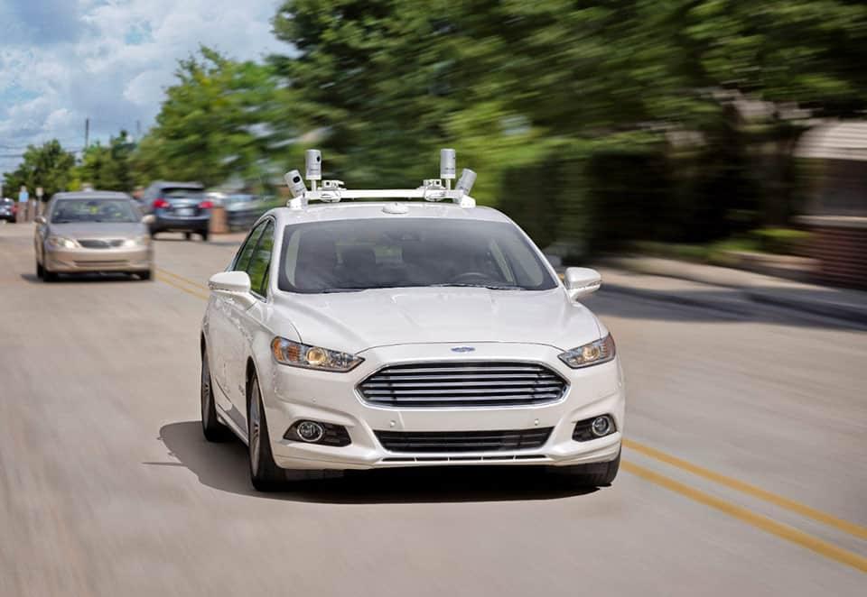 Ford Fusion Hybrid autónomo