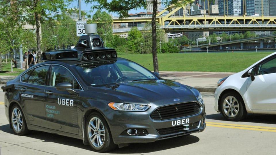 Uber vehículo autónomo