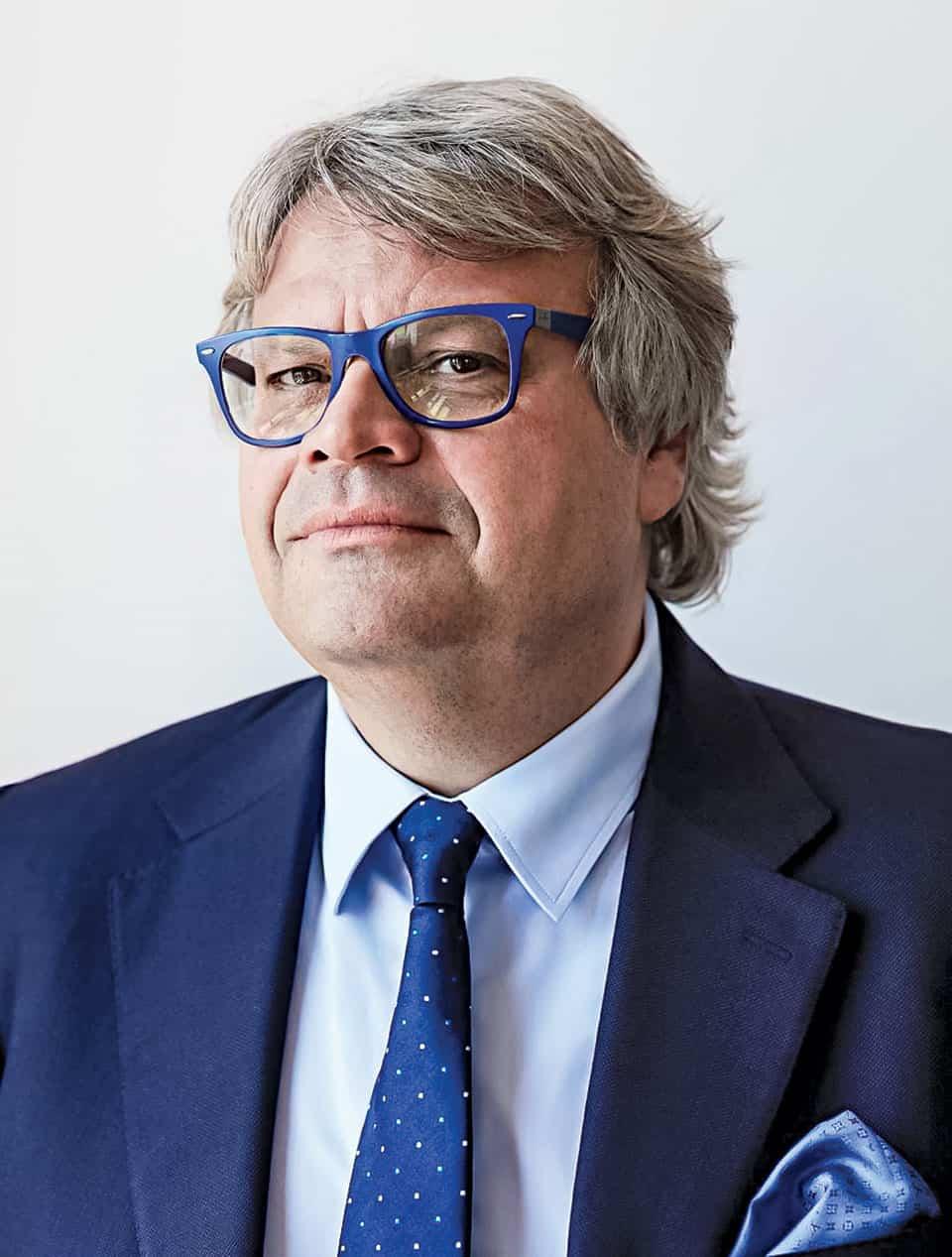 Jacques Cavallier Belletrud es originario de Grasse, capital del mundo de la perfumería.