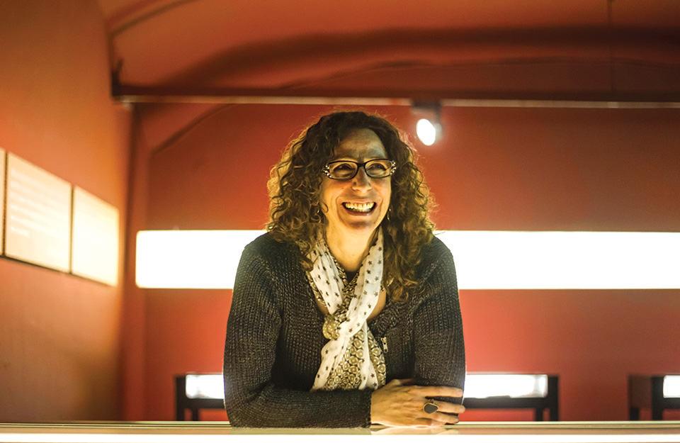 Carolina López es la viuda de Roberto Bolaño
