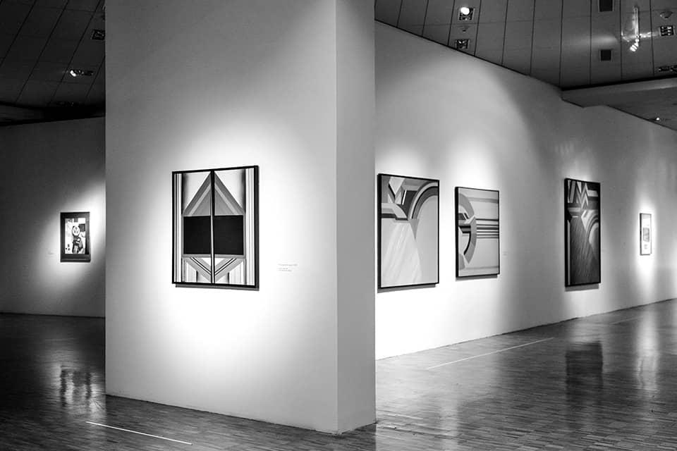 Óleos de 1963, realizados por Kazuya Sakai.