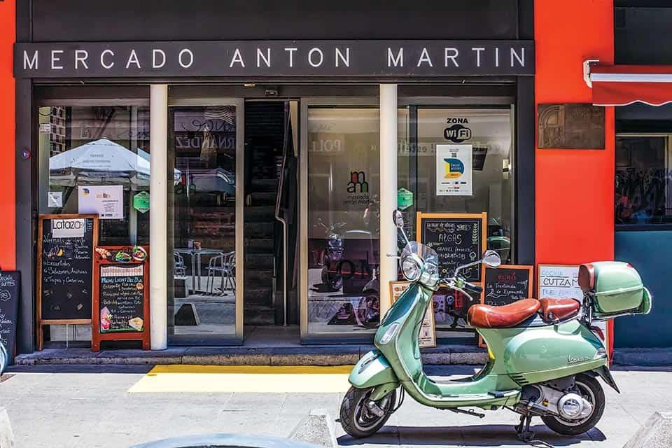 Mercado Antón Martín.