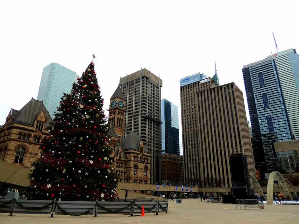 Árbol de Navidad en Toronto