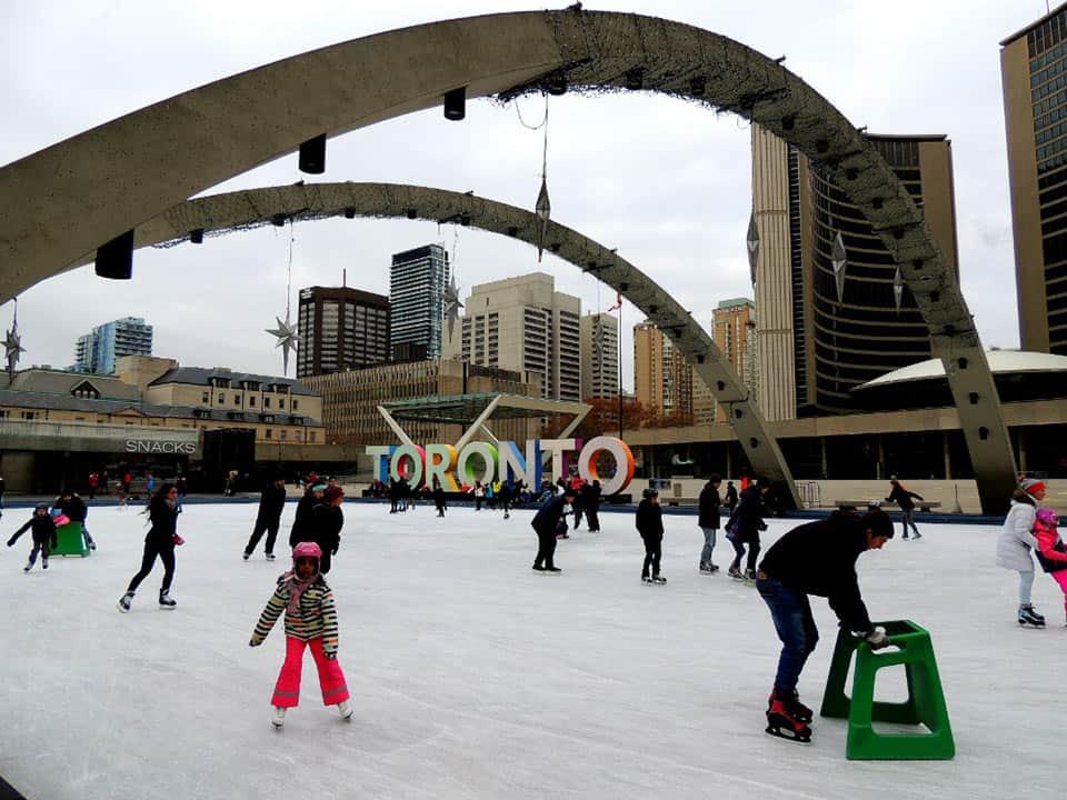 Pista de patinaje, Toronto