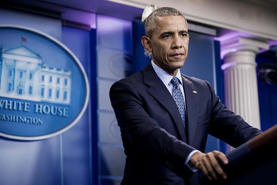 Barack Obama sostiene su última conferencia de prensa