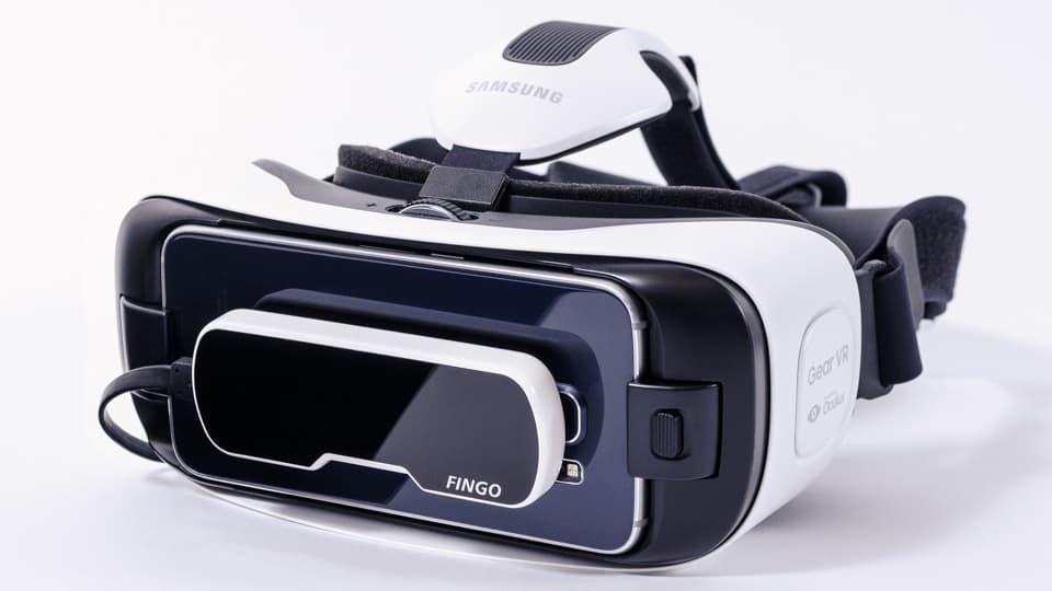 Visor de realidad virtual Fingo.