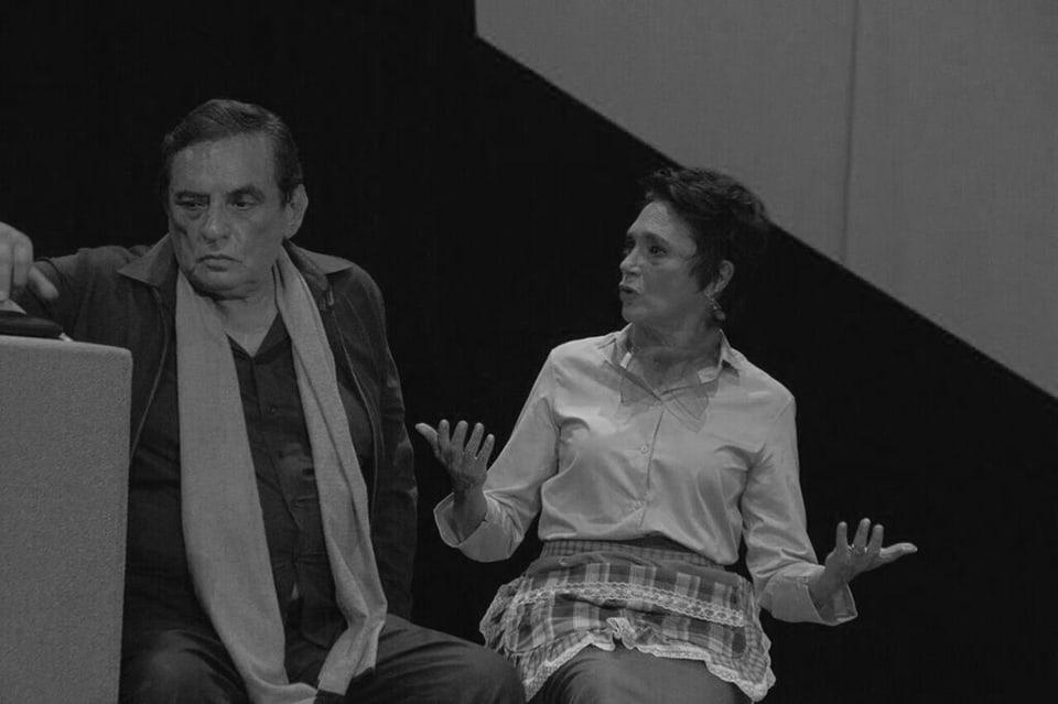 """Manuel Ojeda y Ofelia Medina en """"Mamá por siempre""""."""