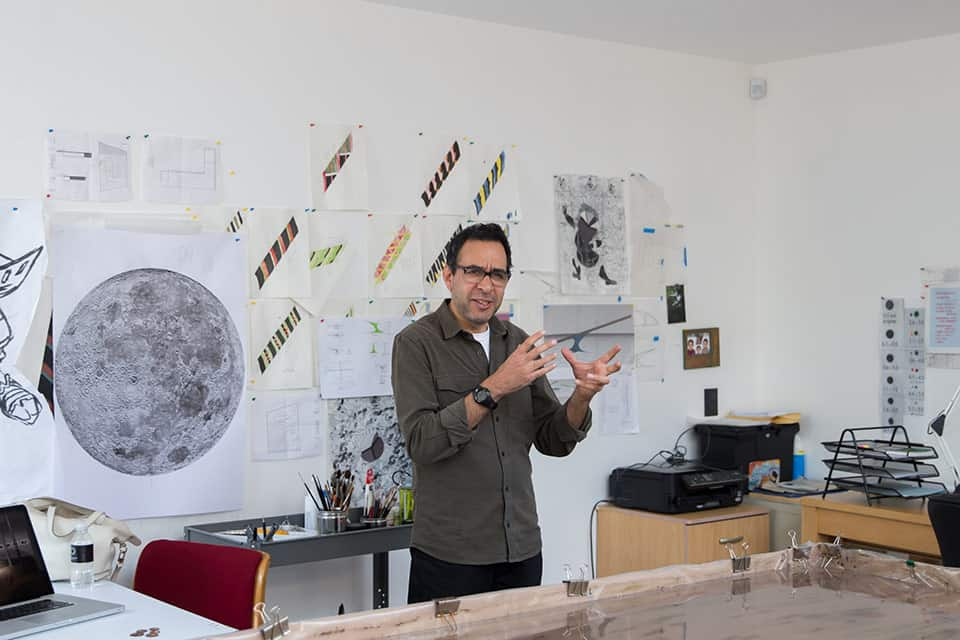 Pablo Vargas Lugo, artista contemporáneo.