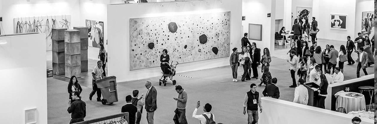 Febrero de ferias de arte contemporáneo