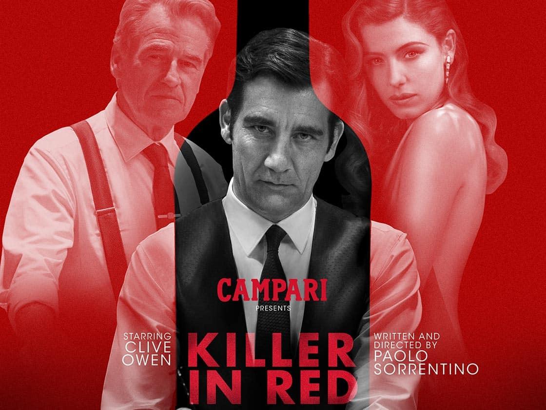Portada Killer in red