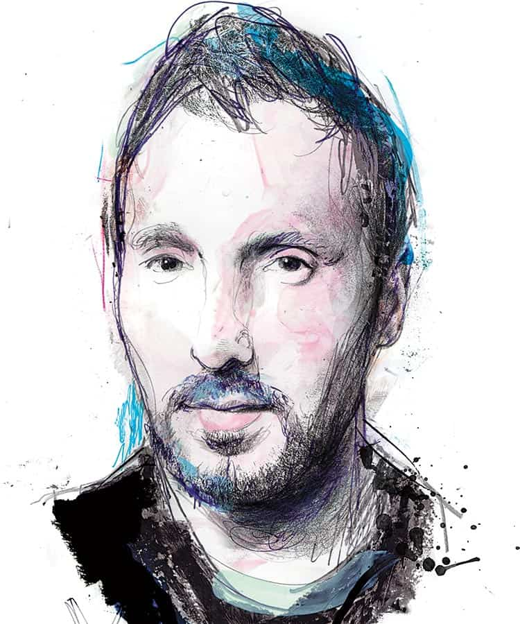 Anthony Vaccarello retrato