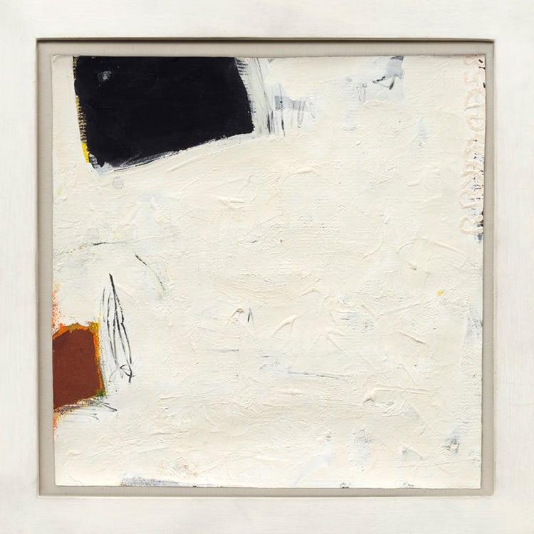 """""""Sin título"""", 1958. Robert Ryman."""