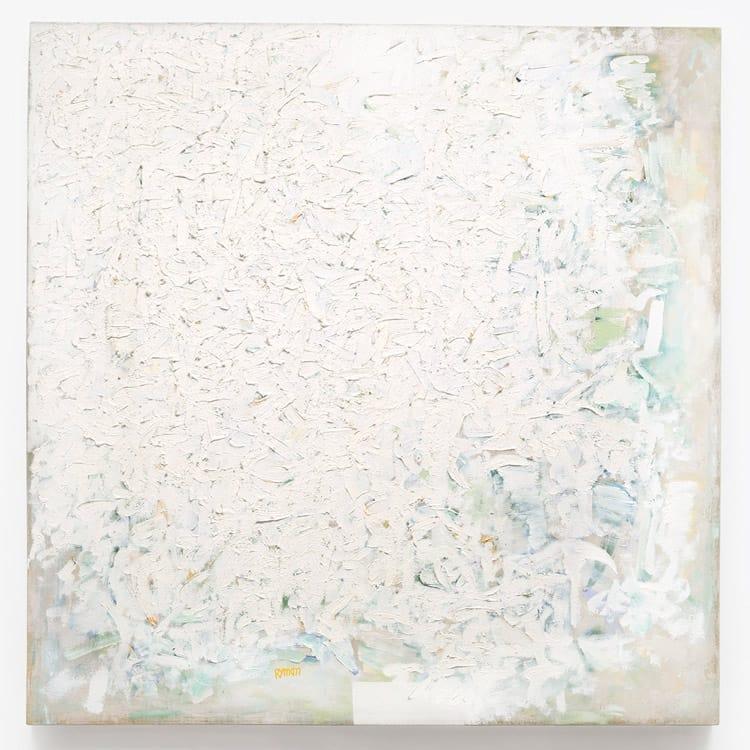 """""""Sin título"""", 1960, Robert Ryman."""