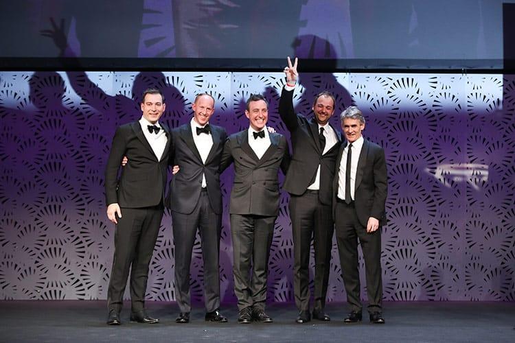 El chef Daniel Humm y su socio Will Guidara, de Eleven Madison Park, el ganador de The World's 50 Best Restaurants 2017.