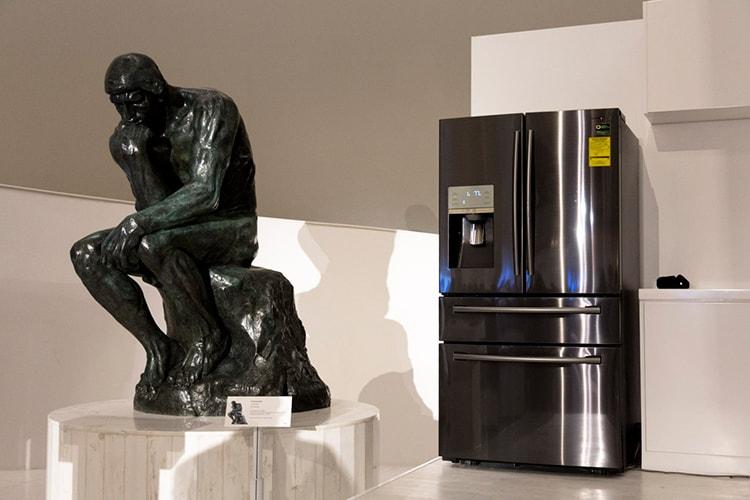 Presentación de Black Stainless de Samsung Electronics en el Museo Soumaya.