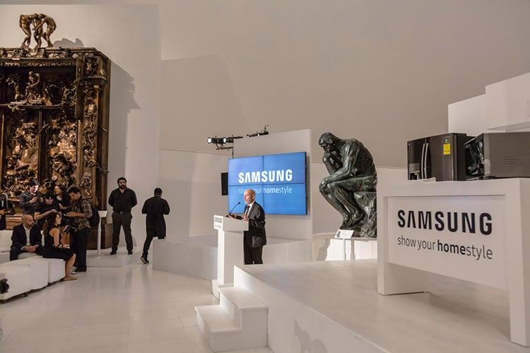Hervé Baurez, Director de Mercadotecnia para la división Consumer Electronics en Samsung México
