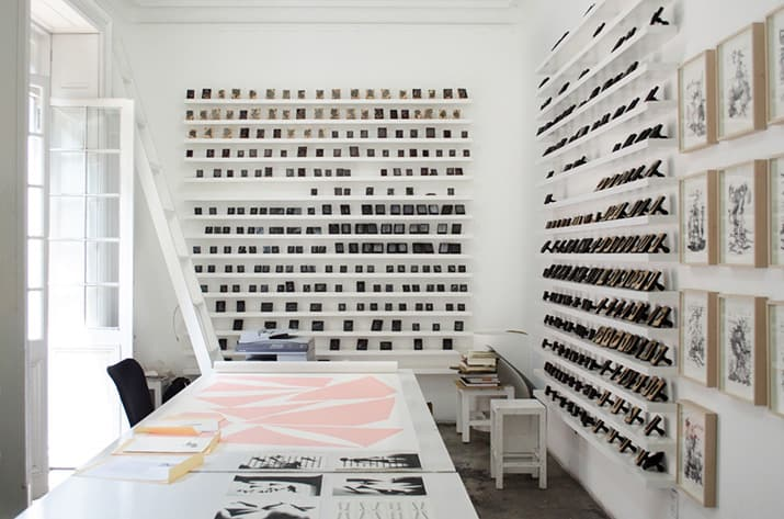 Carlos Amorales rumbo a la Bienal de Venecia 2017, int 3
