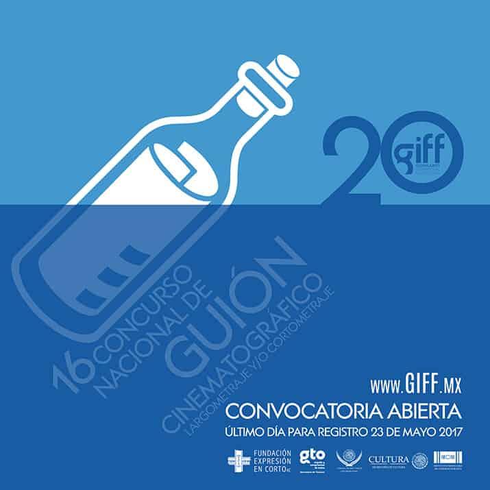 Convocatorias para el XX Festival Internacional de Cine de Guanajuato