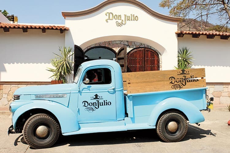 Tequila Don Julio Atotonilco el Alto, carro