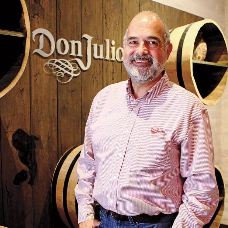 Tequila Don Julio Atotonilco el Alto, persona