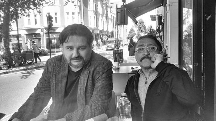 Diego Enrique Osorno y Sergio González Rodríguez.
